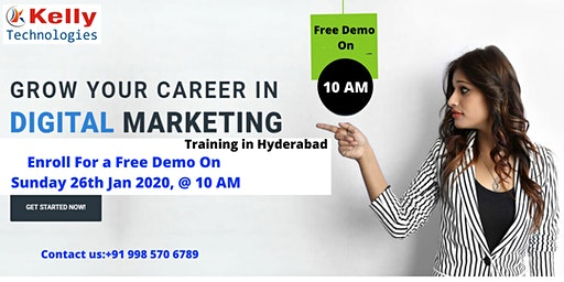 Attend Free Demo On Digital Marketing- By Real-Time Professional On Sun