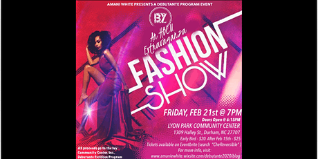 An HBCU Extravaganza Fashion Show tickets
