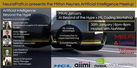 MKAI January | Artificial Intelligence Meetup | AI Beyond The Hype tickets