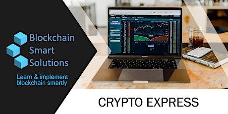 Crypto Express Webinar | Brasilia ingressos