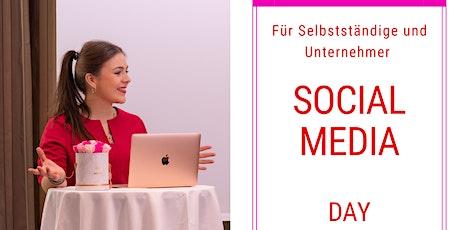 Social Media Workshop Day für Selbstständige und Unternehmer Tickets