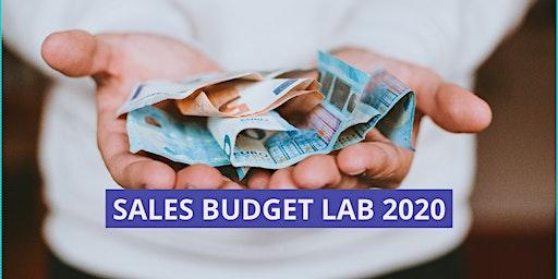 """""""SALES BUDGET LAB 2020"""" - Strategie per fare la Quota di vendita."""
