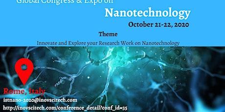 Global Congress & Expo on Nanotechnology tickets