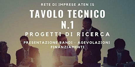Tavolo Tecnico N.1 biglietti