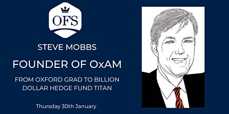 Steve Mobbs: Founder of $5bn Hedge Fund tickets