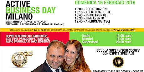 Active Business Day Milano - 16 Febbraio 2020 biglietti
