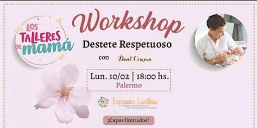 Workshop Destete Respetuoso @lostalleresdemama @danicimma_lactancia