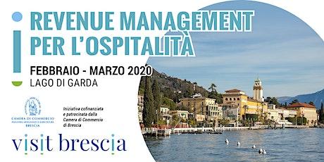 Revenue Management per l'ospitalità - formazione per operatori bresciani biglietti