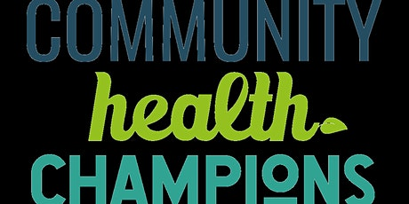 Community Health Champions - Induction training tickets