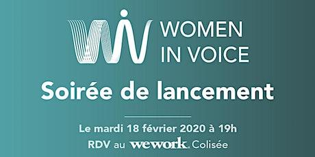 Soirée de Lancement  - Women In Voice France billets