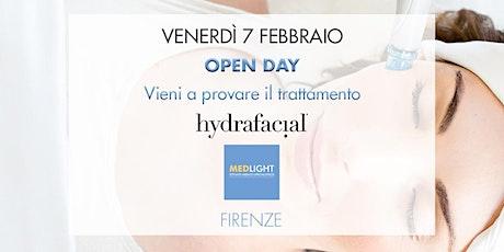OPEN DAY trattamento viso Hydrafacial biglietti