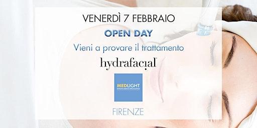 OPEN DAY trattamento viso Hydrafacial