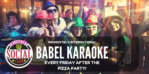 Babel Karaoke Party! Friday night we sing together!