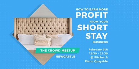The Crowd Meetup| How to earn more profit from your short stays business tickets