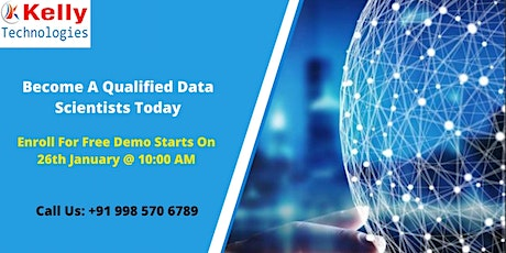 Kelly Technologies Free Data Science Demo Session  on 26th January 10 AM tickets