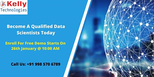 Kelly Technologies Free Data Science Demo Session  on 26th January 10 AM