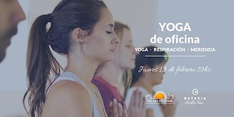 Yoga para la oficina entradas