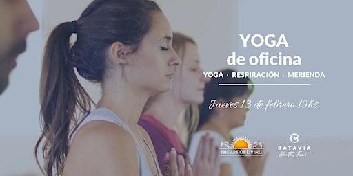 Yoga para la oficina