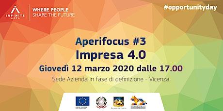 Aperifocus #3 - Impresa 4.0 tickets