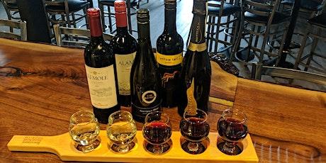 Wine Flights & Bites - Dégustation de vins et bouchées billets
