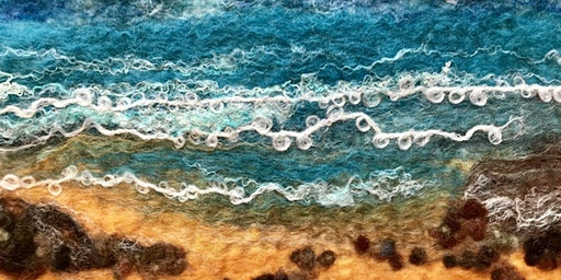 Introduction to wet felted landscapes