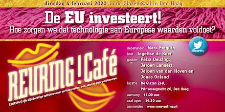 EU investeert! Hoe zorgen we dat technologie aan Europese waarden voldoet? tickets