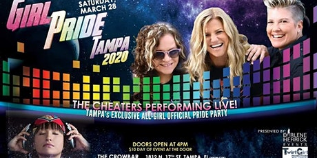 GirlPride Tampa 2020 March 28th 4pm tickets