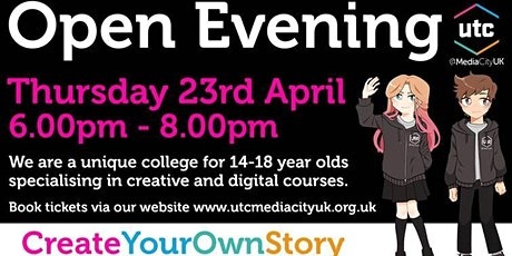 UTCMediaCityUK Open Evening tickets