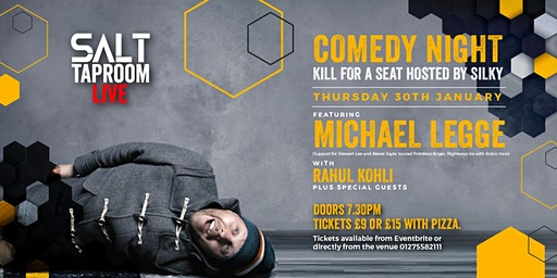 Kill For A Seat Comedy with Michael Legge