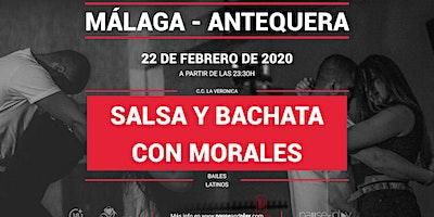Bailes latinos Salsa y bachata con Morales en Pause&Play La verónica