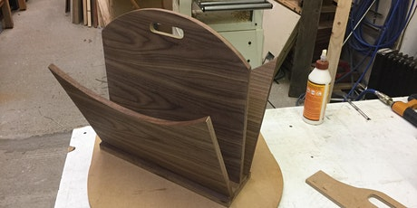 Intermediate Woodwork course - Make a contemporary magazine rack tickets