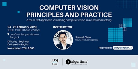 Computer Vision Principles and Practice tickets