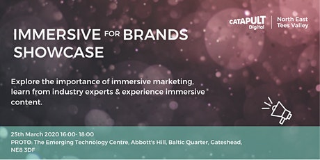 Immersive for Brands Showcase tickets