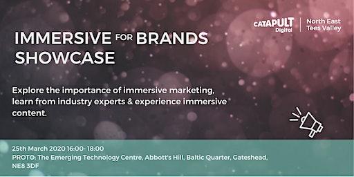 Immersive for Brands Showcase