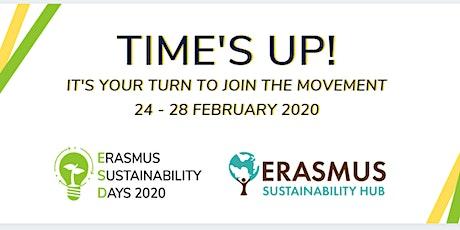Erasmus Sustainability Days 2020 tickets