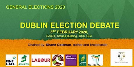 Dublin General Election Debate tickets