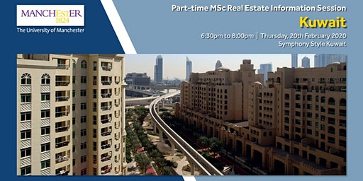 Part-time MSc Real Estate Information Session in Kuwait