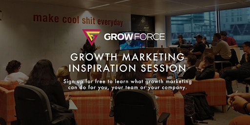 Free Growth Marketing Inspiration Session by GrowForce - Brussel