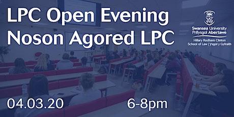 LPC Open Evening / Noson Agored LPC 2020 tickets