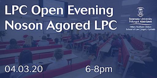 LPC Open Evening / Noson Agored LPC 2020