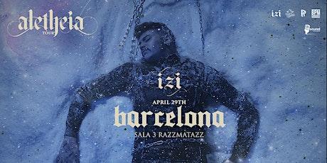 IZI - Aletheia Tour 2020 - Razzmatazz Sala 3, Barcelona entradas