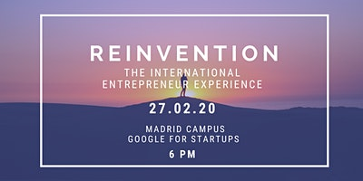 Reinvention: the international entrepreneur experience