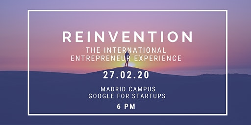 Reinvention: the international entrepreneur experience