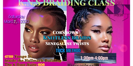 KNS braiding/ twisting class tickets