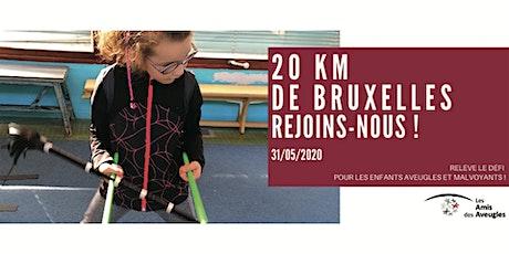 Rejoignez la team des Amis des Aveugles pour les 20 km de Bruxelles ! billets