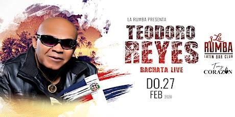 Teodoro Reyes Live Tickets