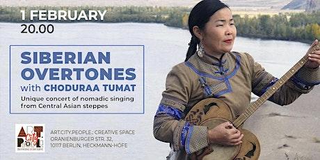 Siberian overtones with Choduraa Tumat Tickets