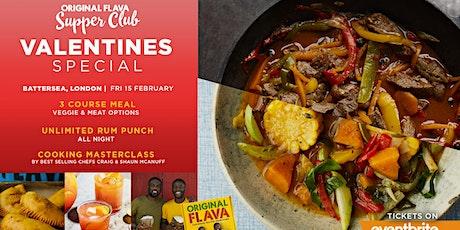 Original Flava's VALENTINES SUPPERCLUB SPECIAL* VEGAN & MEAT OPTIONS tickets