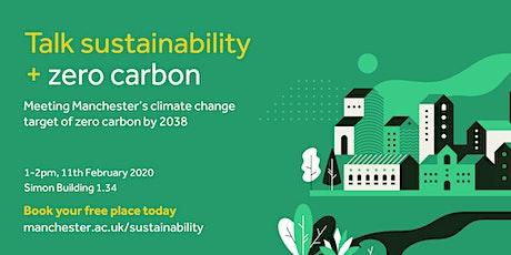 Sustainability Seminar Series - Zero Carbon tickets