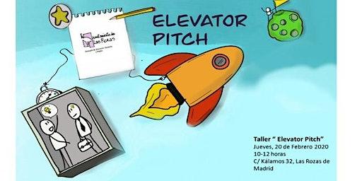 """EMPRENDE -TALLER """"ELEVATOR PITCH"""""""